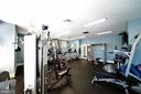 FITNESS CENTER IN CLUBHOUSE - 12224 DORRANCE CT, RESTON