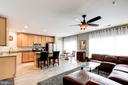 Kitchen & family room - 43545 MAHALA ST, LEESBURG
