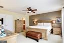 Master bedroom - 43545 MAHALA ST, LEESBURG