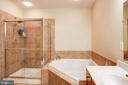 Master bath - 43545 MAHALA ST, LEESBURG