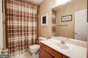 Second level full bath - 43545 MAHALA ST, LEESBURG