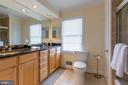 Hall Bath - 11030 WAYCROFT WAY, NORTH BETHESDA