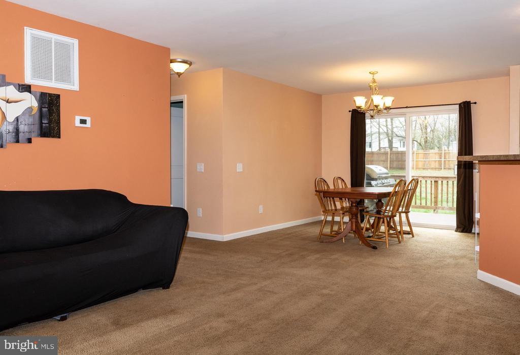 Open Floor Plan - View 1 - 7187 COVINGTONS CORNER RD, BEALETON