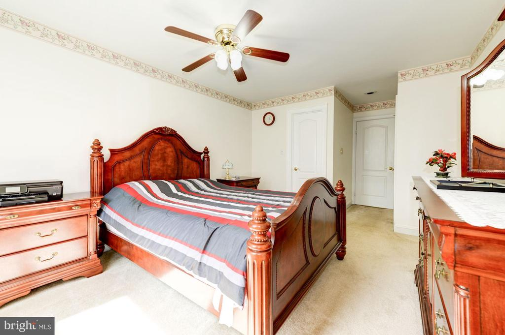 Main level Bedroom View#3 - 5608 CAVALIER WOODS LN, CLIFTON