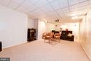Basement Recreation Room View#2 - 5608 CAVALIER WOODS LN, CLIFTON