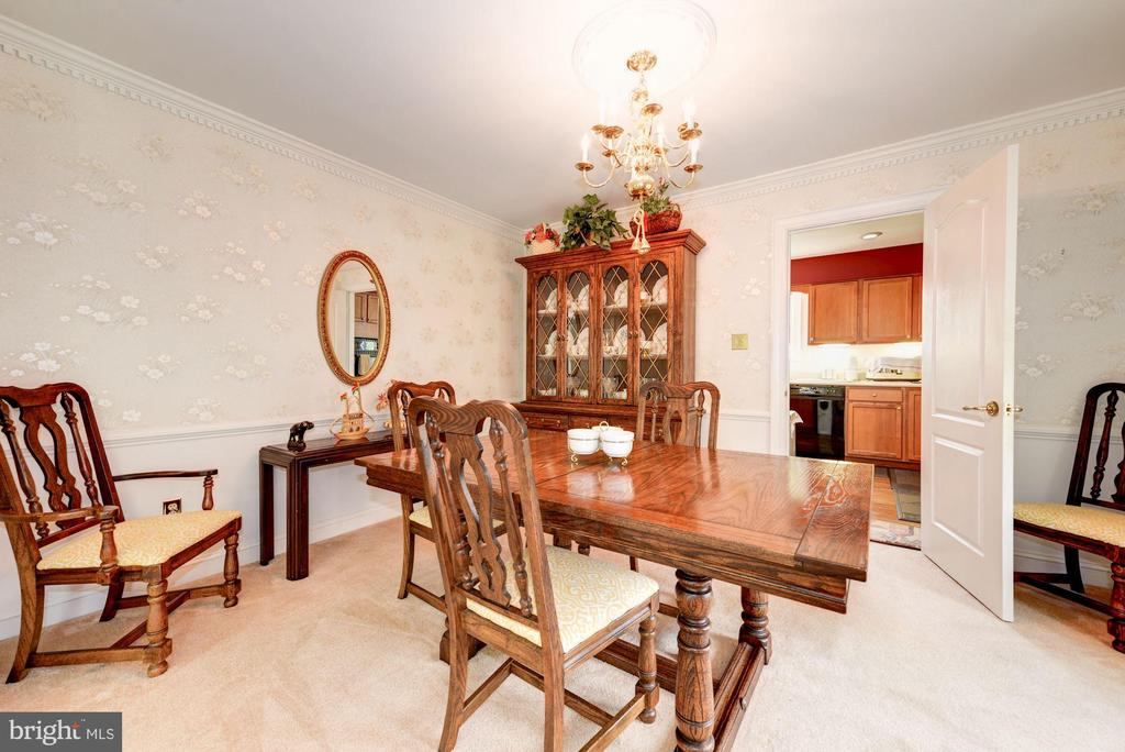 Dining Room View#2 - 5608 CAVALIER WOODS LN, CLIFTON