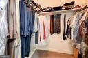 Master Bedroom  Walkin closet#1 - 5608 CAVALIER WOODS LN, CLIFTON