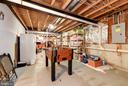 Basement Storage Area - 5608 CAVALIER WOODS LN, CLIFTON