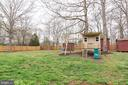 Large Fenced Back Yard - Plenty of Room to Play! - 7187 COVINGTONS CORNER RD, BEALETON