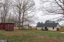 Large Fenced Back Yard - With Sheds - 7187 COVINGTONS CORNER RD, BEALETON
