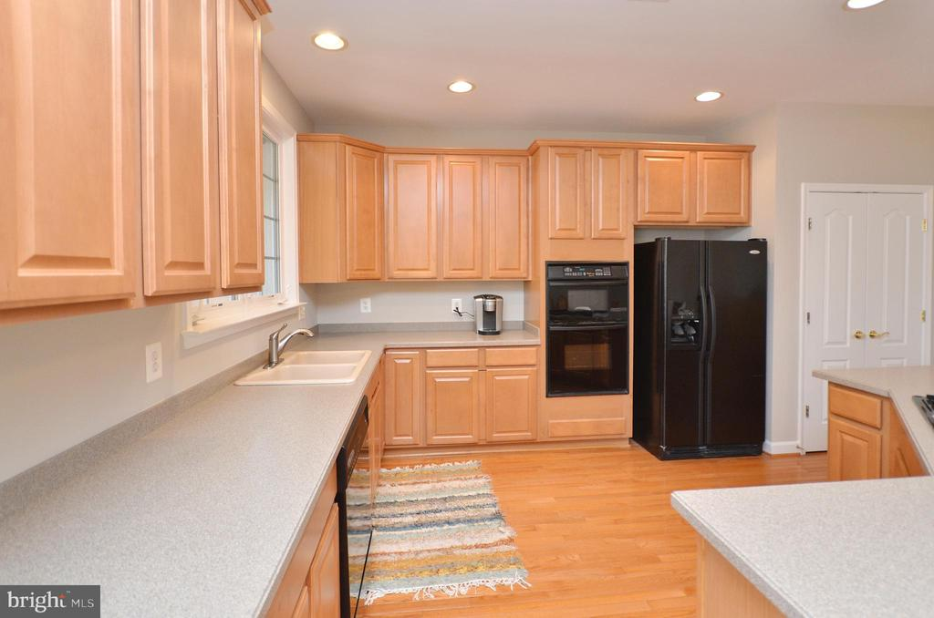 HUGE kitchen with solid surface counters - 19082 PILEATED TER, LEESBURG