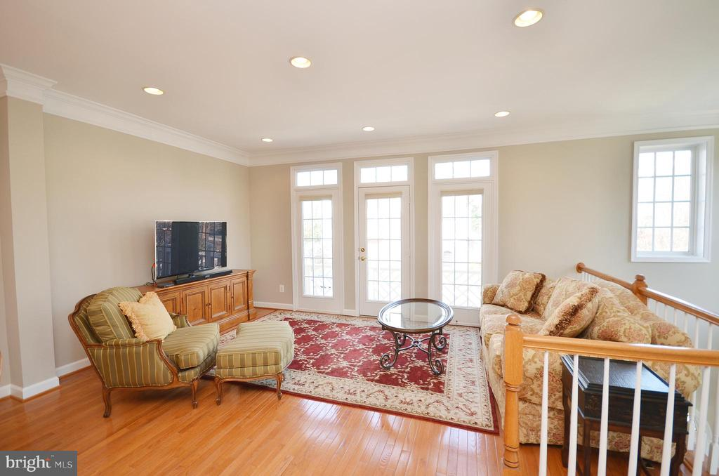 Formal living room with Juliette balcony - 19082 PILEATED TER, LEESBURG