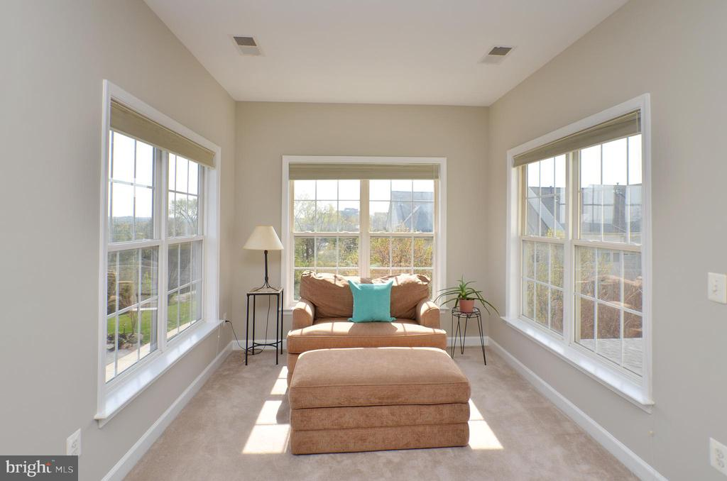 Light filled sitting area in MBR - 19082 PILEATED TER, LEESBURG