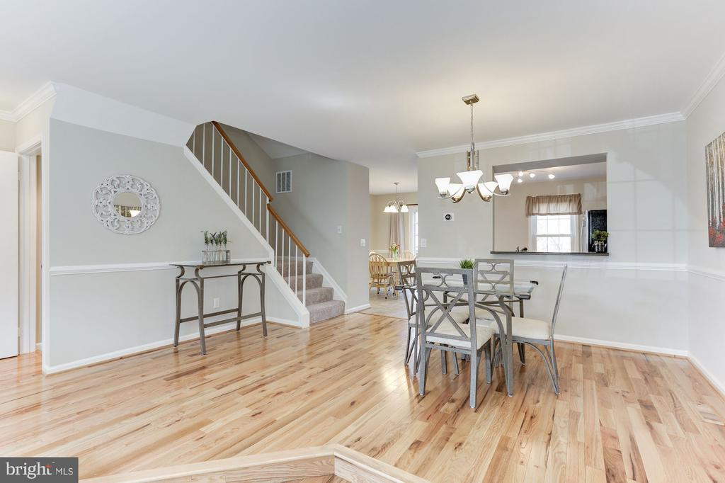 Spacious Dining Room - 14111 BETSY ROSS LN, CENTREVILLE