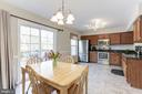 Spacious Gourmet Kitchen - 14111 BETSY ROSS LN, CENTREVILLE