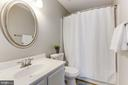 Master Bath with Soaking Tub - 14111 BETSY ROSS LN, CENTREVILLE