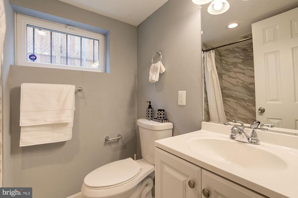Lower Level Bath - 1600 EASTERN AVE NE, WASHINGTON