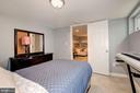 Lower Level Bedroom - 1600 EASTERN AVE NE, WASHINGTON