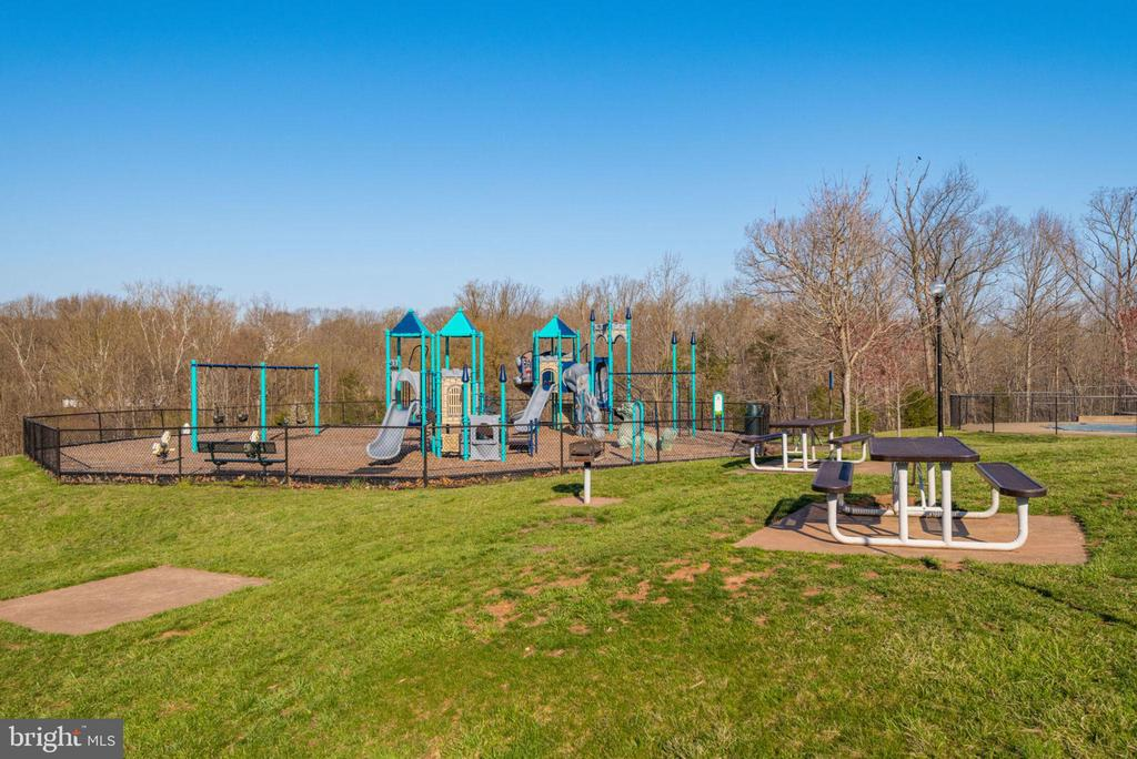 Community Playground w/Picnic Tables - 47383 DARKHOLLOW FALLS TER, STERLING