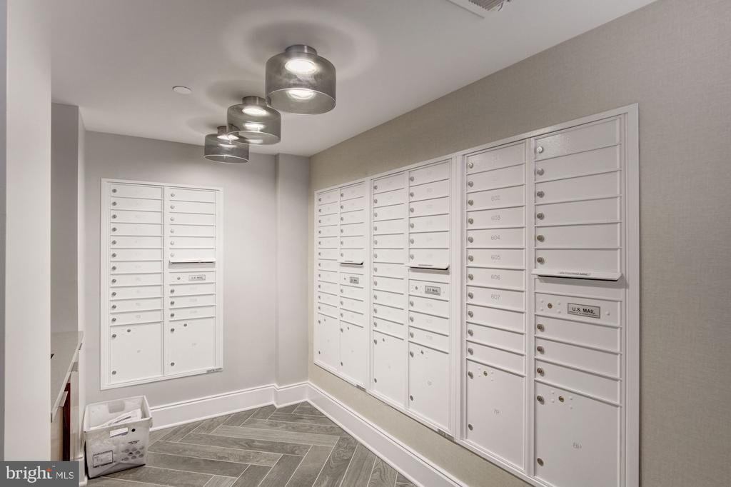 Mail room off of the lobby - 1745 N ST NW #210, WASHINGTON