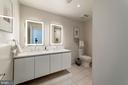 Spacious master bathroom - 1745 N ST NW #210, WASHINGTON