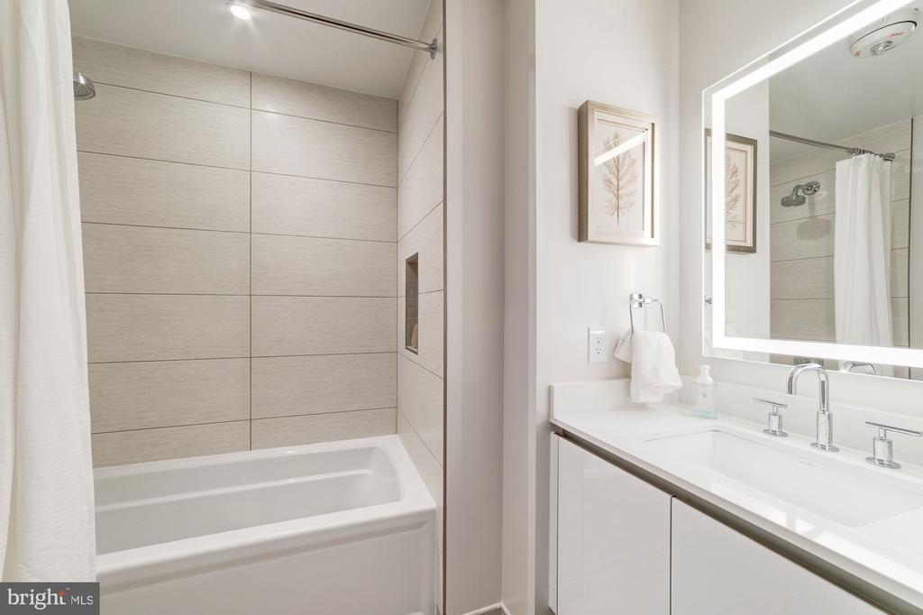Second bedroom bath - 1745 N ST NW #210, WASHINGTON