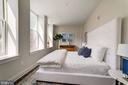 Master bedroom providing plenty of natural light - 1745 N ST NW #210, WASHINGTON