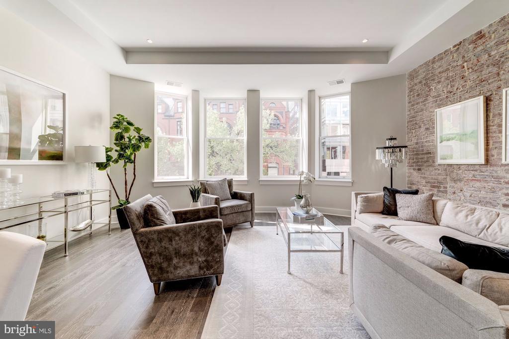 Living area - 1745 N ST NW #210, WASHINGTON
