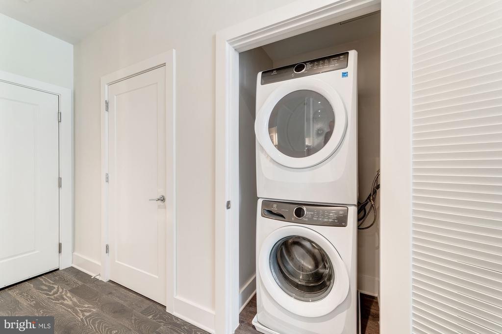 Full sized washer/dryer - 1745 N ST NW #210, WASHINGTON