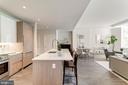 Kitchen with island - 1745 N ST NW #210, WASHINGTON