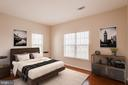 Second bedroom - 1716 LAKE SHORE CREST DR #35, RESTON