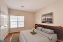 Master bedroom - 1716 LAKE SHORE CREST DR #35, RESTON