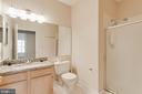 Hall full bath - 1716 LAKE SHORE CREST DR #35, RESTON