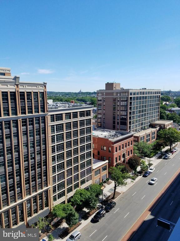 Another view from the rooftop deck - 460 NEW YORK AVE NW #607, WASHINGTON