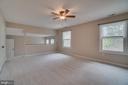 Master suite - 3091 WOODS COVE LN, WOODBRIDGE