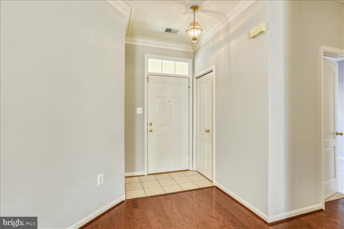 Bright Foyer with Tile Floors~Fresh Paint - 43299 RUSH RUN TER, ASHBURN