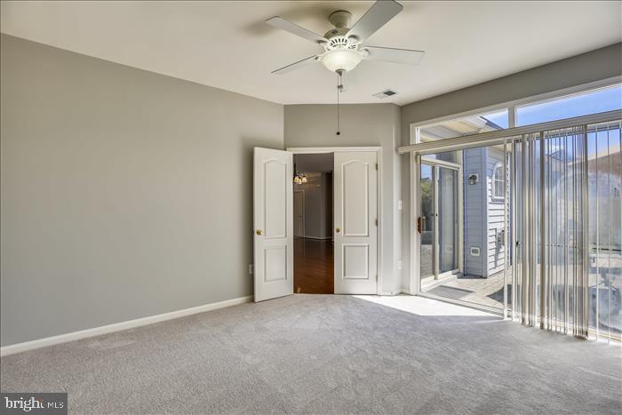 Owner's Suite with NEW Carpet~Door to Private Pati - 43299 RUSH RUN TER, ASHBURN