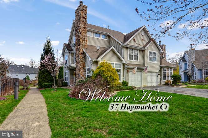 Single Family Home for Sale at 37 HAYMARKET Court Cranbury, New Jersey 08512 United StatesMunicipality: East Windsor Township