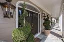 Inviting Front Door - 9606 FALLS, POTOMAC
