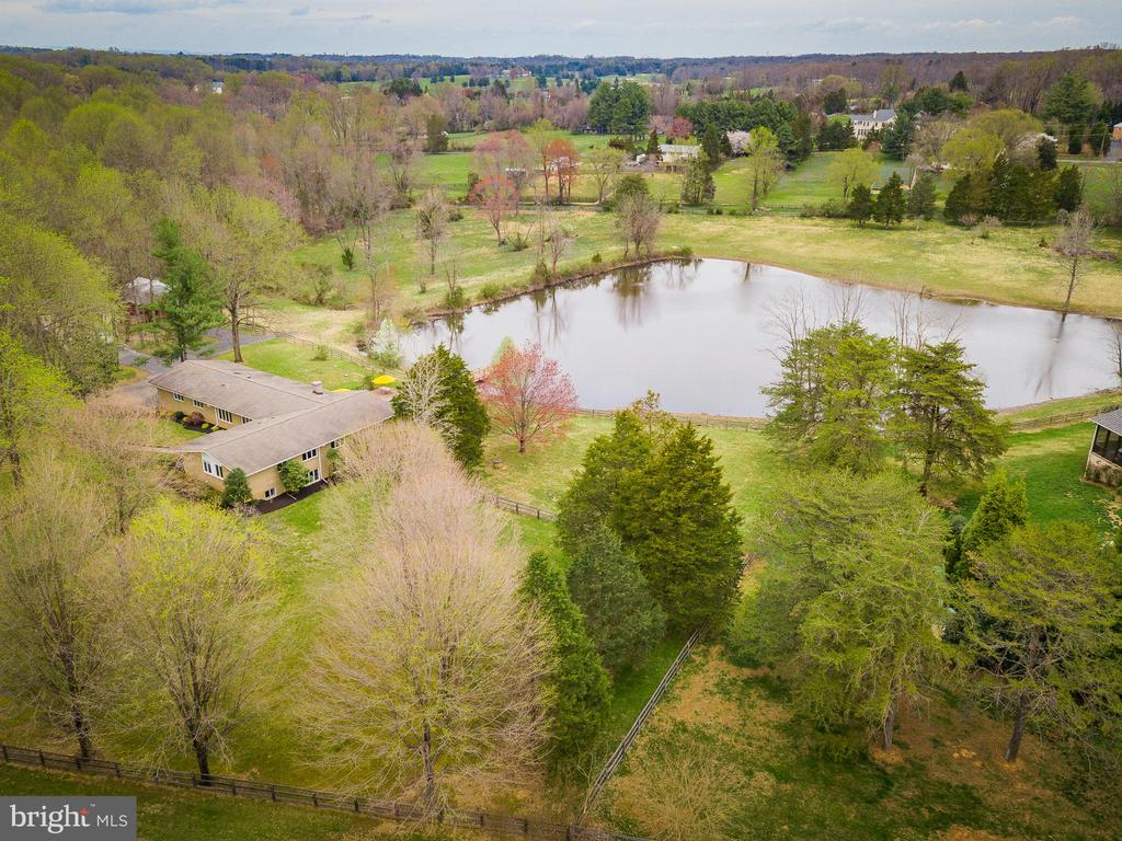 Over 8-Acres of Natural Beauty - 13108 LAUREL GLEN RD, CLIFTON
