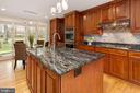 Remodeled Gourmet Kitchen - 13108 LAUREL GLEN RD, CLIFTON