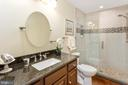 Custom Updated Full Bath - 13108 LAUREL GLEN RD, CLIFTON