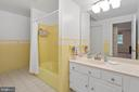 Ceramic Full Bath in Lower Level - 13108 LAUREL GLEN RD, CLIFTON