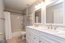 Hall bath newly remodeled - 20691 POMEROY CT, ASHBURN