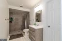 Lower level full bath - 20691 POMEROY CT, ASHBURN