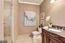Lower Level  Second Bathroom w/Steam Shower. - 1211 RESTON AVE, HERNDON
