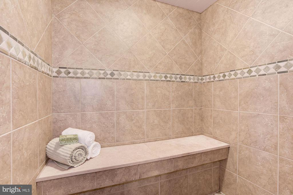 Lower Level Full Bath & Steam Room - 1211 RESTON AVE, HERNDON