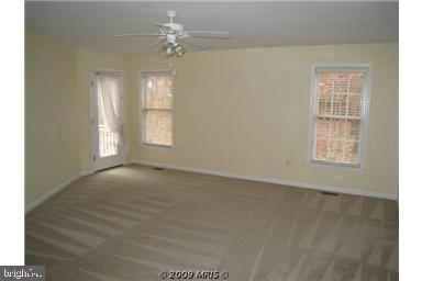 Large Master Bedroom  patio door opening to deck - 424 YORKTOWN, LOCUST GROVE