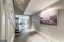 Historic and restored lobby - 1745 N ST NW #208, WASHINGTON