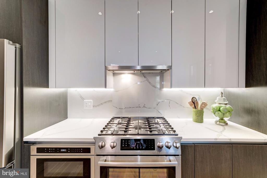 Gourmet kitchen with gas cooking - 1745 N ST NW #208, WASHINGTON
